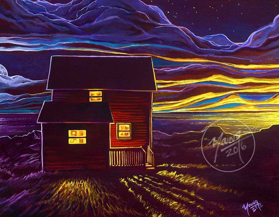 red-saltbox